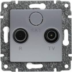 514073 Gniazdo antenowe RTV...