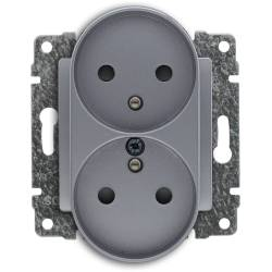 524047 Double socket with...