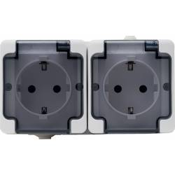 181442 Double socket...