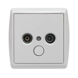 110453 Single TV socket