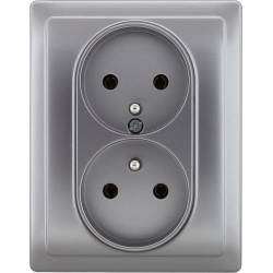 454136 Double socket with...