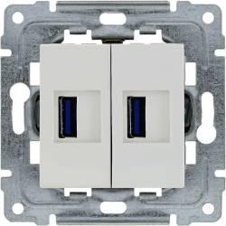 450457  2 x Ładowarka USB...