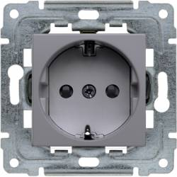 454141 Single socket Schuko...