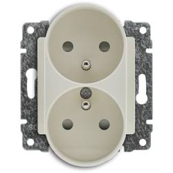 520349 Double socket with...