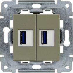 455057 2 x Ładowarka USB 5V 2A
