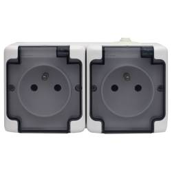 181436 Double socket...