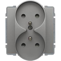 664047 Double socket with...