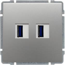 664057 Ładowarka USB 2 x...