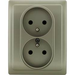 455036 Double socket with...