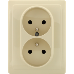 450336 Double socket with...