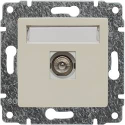 510353 Single TV socket,...