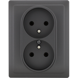 456036 Double socket with...