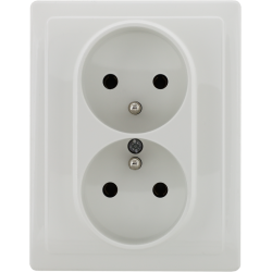 450436 Double socket with...