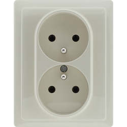 510336 Double socket with...