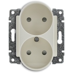 510346 Double socket with...