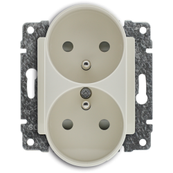 510347 Double socket with...