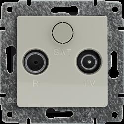 510373 Gniazdo antenowe RTV...