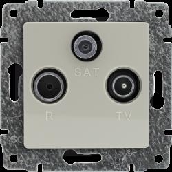 510376 Gniazdo antenowe RTV...