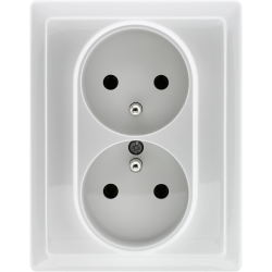 510436 Double socket with...