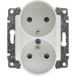 510447 Double socket with...