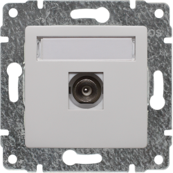 510453 Single TV socket,...