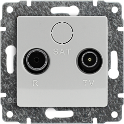 510473 Gniazdo antenowe RTV...
