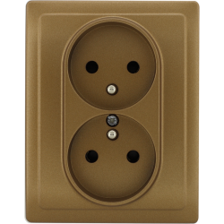 513036 Double socket with...