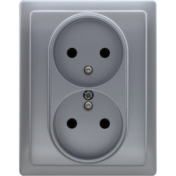 514036 Double socket with...