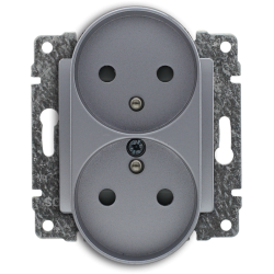 514047 Double socket with...